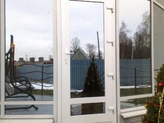 дверь ПВХ пальгова