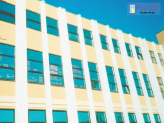 Остекление гостиницы в Сочи