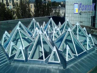 Проектирование и установка зенитных фонарей