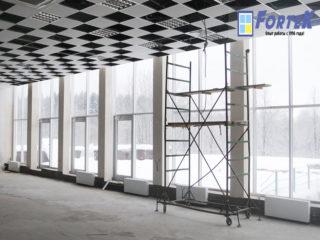 Реконструкция пансионата «Заря»