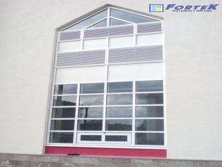 Остекление фасада, Локомотивное депо ТЧ-15