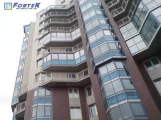 Замена остекления многоэтажного дома